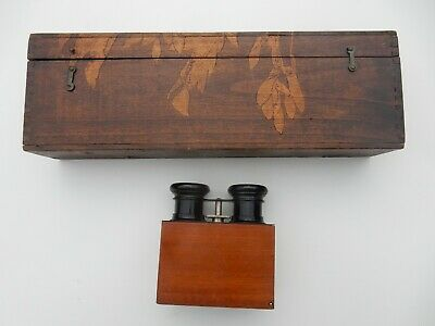 Unusual French Edwardian (small )stereoscopic Viewer With 50 Glass Negatives  • 249.99£