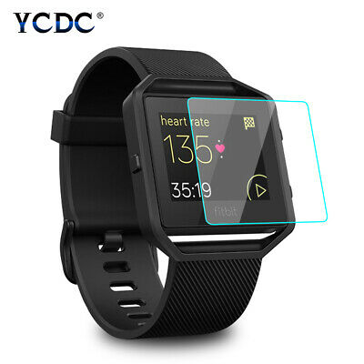 $ CDN3.69 • Buy 9H Anti-scratch 0.26mm Tempered Glass Screen Protector Film For Fitbit Blaze 3C