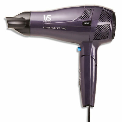 AU49.95 • Buy VS Sassoon VS289A 2000W Hair Dryer Travel/Portable/Foldable Ceramic/Ionic
