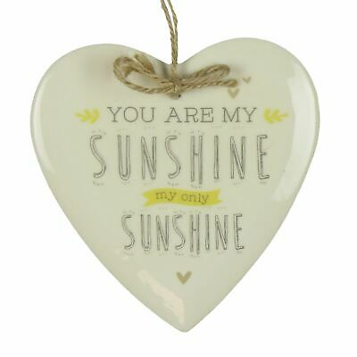 Love Life Heart Plaque - You Are My Sunshine • 7.96£