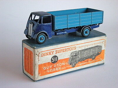 £125 • Buy DINKY SUPERTOYS 511 GUY 4-TON LORRY -  Slightly Chipped Boxed