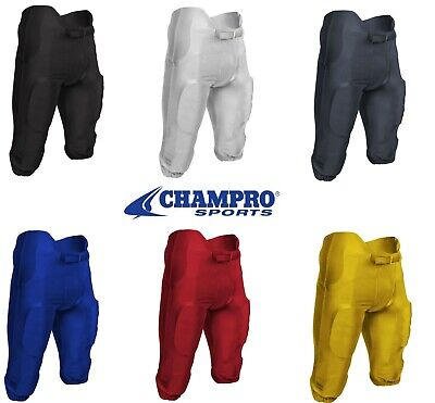 $19.99 • Buy Champro Terminator 2 Integrated Dazzle Football Pants /w Pads - FPU19