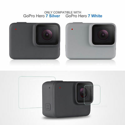 $ CDN3.20 • Buy Tempered Glass For GoPro Hero7 White & Silver Action Camera Screen Protector Hi