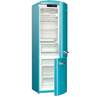 View Details Gorenje ORK193BL Retro Freestanding Fridge Freezer - 194 Cm - Right Han ORK193BL • 507.97£