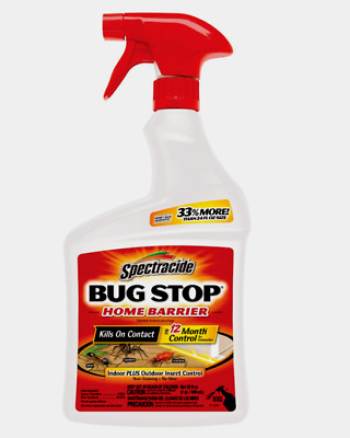 £12.84 • Buy New!! Spectracide BUG STOP Insect Killer Ants Roaches Odorless 32 Oz. HG-96427