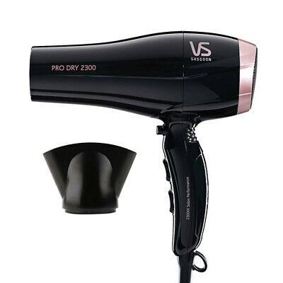 AU42 • Buy VS Sassoon VSD120A Pro Dry 2300W Hair Dryer/Hairdryer/Fast Drying/Light Weight