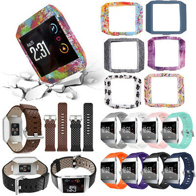 $ CDN7.65 • Buy For Fitbit Ionic Smart Watch Band Strap Soft Bracelet Wrist Band & Silicone Case