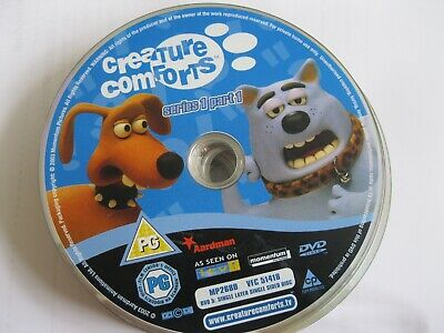 Creature Comforts - Series 1 Part 1 - Disc Only  (ds50) {dvd} • 1.10£
