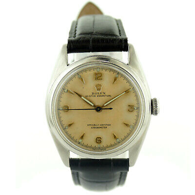 $ CDN3048.04 • Buy Rolex Vintage Oyster Perpetual 1975 Patina Dial Stainless Steel Midsize Watch