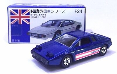 $ CDN169.75 • Buy Made In Japan Tomy Tomica F24 Lotus Esprit Sport Car Blue 1/69 Diecast Car Rare
