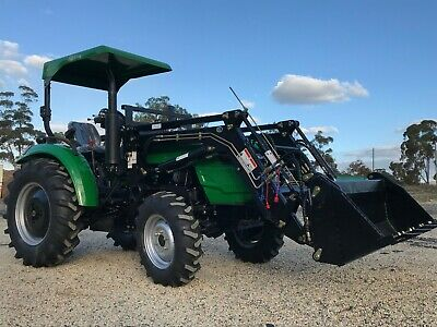 AU18990 • Buy Tractor AGKing AK304 30hp Small Acreage Tractor, FEL, 4WD, 4in1, ROPS, Pwr Steer