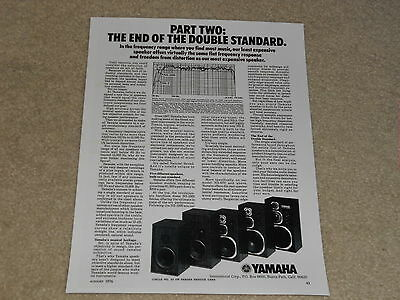 AU9.77 • Buy Yamaha NS-1000, NS-670, NS-690, NS-3, NS-2, Ultimate Speakers, Article, Info,1pg