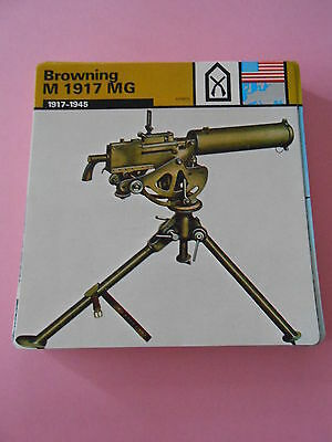 $3.62 • Buy Guerre War 1945  Browning M 1917 MG Arme Infanterie Américaine Fiche Card 1979