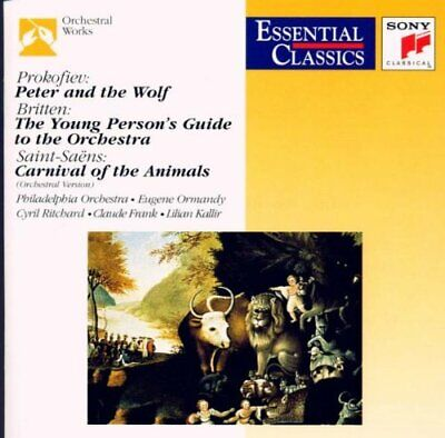 £3.49 • Buy Prokofiev: Peter And The Wolf; Saint-Saens: Carnival Of The Animal... -  CD V2VG