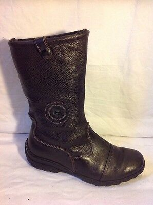 £28 • Buy Rohde Brown Ankle Leather Boots Size 38