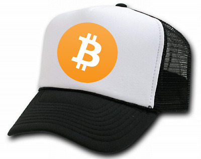 AU25 • Buy TRUCKER CAP With Bitcoin Or Crypto Logo Of Choice. (BLK, BLUE, RED, OR,YEL,GRN)