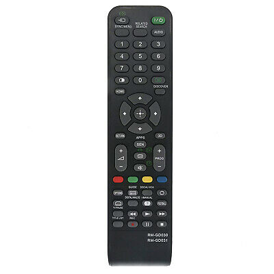 AU14.98 • Buy New RM-GD030 RM-GD031 Replacement Remote Control For Sony Bravia 4K LED TV