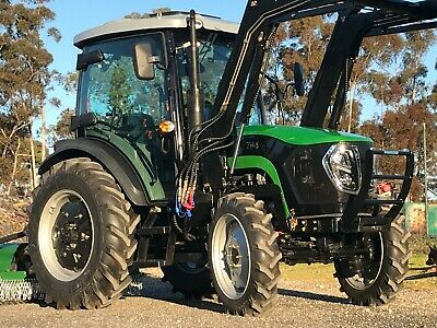 AU33990 • Buy Tractor 70hp AGKing AK704 Cabin, A/C, Stereo, 4WD, FEL, 4in1, Shuttle Shift.