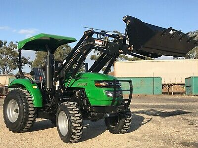 AU19990 • Buy AGKing AK404, 2019 Tractor, 40HP, FEL, 4WD,4in1,shuttle Shift, Industrial Tyres.