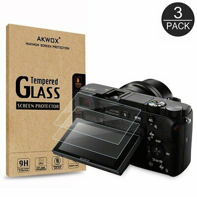 AU14.15 • Buy Akwox (3-Pack) Screen Protector For Sony Dslr Alpha Nex-7 Nex-6 Nex-5 A6000 A630