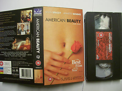 AU1.85 • Buy AMERICAN BEAUTY [1999] VHS PAL – Kevin Spacey, Annette Bening, Thora Birch