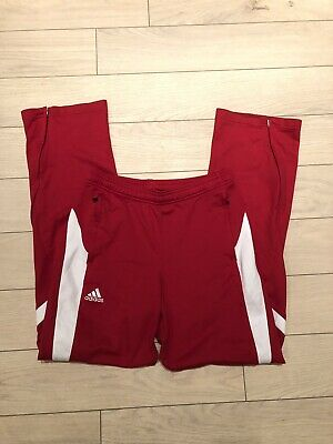 $ CDN24 • Buy Adidas Mens Clima Lite Red Track Pants Size S