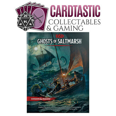AU48.50 • Buy D&D Ghosts Of Saltmarsh 5th Edition Hard Cover Book
