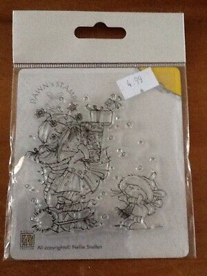 £3.50 • Buy Nellie Snellen Mini Clear Cling Stamps - Giving Away