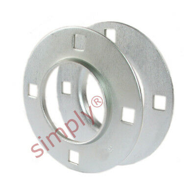 £5.62 • Buy PF208 1 Set Of Round 4 Bolt Pressed Steel Bearing Housing Accepts 208 Inserts