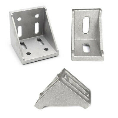 AU5.14 • Buy 20/30/40/60/80 L Shape Profile Right Brace Corner T-slot Aluminum Angle Bracket