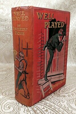 £10.75 • Buy Well Played! By Andrew Home Hardcover 1907 Illustrated By Harold Copping