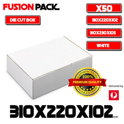 AU55.99 • Buy 50X Mailing Box Diecut Carton Box External Size 310x230x105mm A4 B2 BX2 Size