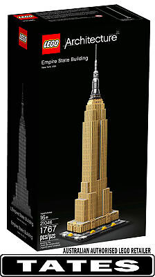 AU163.74 • Buy LEGO® 21046 Empire State Building ARCHITECTURE From Tates Toyworld