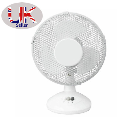 £15.99 • Buy NEW 16/9/6  Stand/Desk Fans Oscillating/Rotating-Electric Portable Cooling Fans