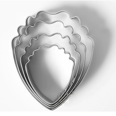 £4.30 • Buy Peony Cutter Cookie Petal Flower Floral Stainless Steel Cake Decorate Mould 4pcs