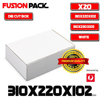AU24.99 • Buy 20x Mailing Box 310x220x102mm Carton Diecut  310x230x105mm  BM BX2 Size* A4