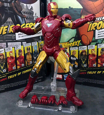 $11.99 • Buy Marvel Legends Iron Man MK 6 Armor With Stand 6  Action Figure Loose