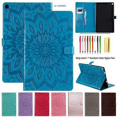 AU21.09 • Buy Pattern Leather Wallet Stand Cover Case For Amazon Kindle HD10&Paperwhite1/2/3/4
