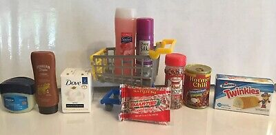 $ CDN67.11 • Buy ZURU 5 Surprise Mini Brands Lot 10 Suave Smarties Twinkies Bacon Dove Cart ++