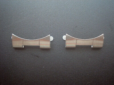 $ CDN31.35 • Buy 2 Pc  501b End Pieces For Old  Rolex 20mm Oyster Watch Band Bracelet Fit 2mm Bar
