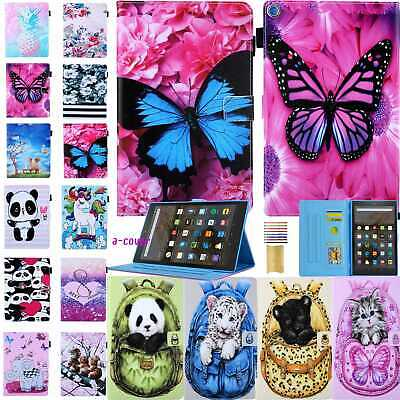 AU23.99 • Buy W/Sleep Cute Leather Stand Wallet Case Cover Fr Amazon Kindle HD10/8 Paperwhite