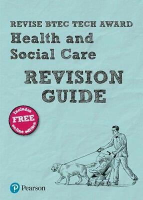 £4.99 • Buy Revise BTEC Tech Award Health And Social Care Revision Guide... By Baker, Brenda