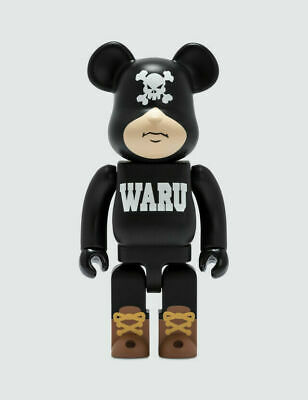 $180 • Buy Medicom Japan Tokyo Tribe Waru Black 400% Bearbrick Toy Santastic Entertainment