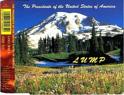 The Presidents Of The United States Of America ‎– Lump - UK CD Single • 2.29£