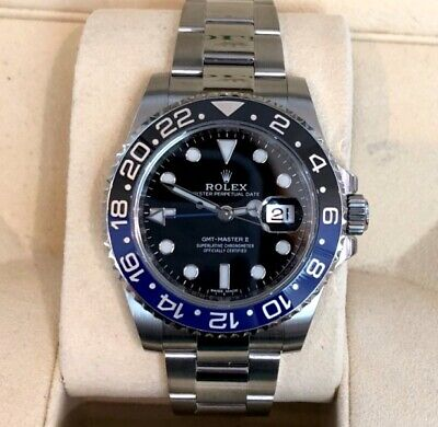 $ CDN22560.65 • Buy Rolex GMT Master II  Batman  116710BLNR  *Pre-Owned*