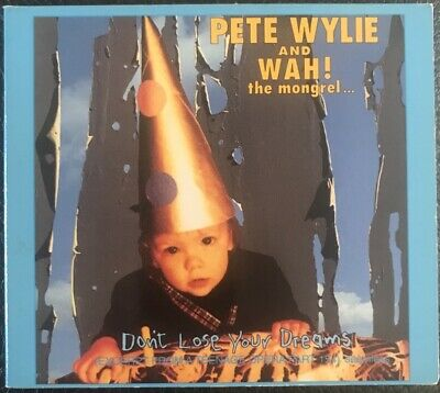 Pete Wylie + Wah! Don't Lose Your Dreams Cd Single 3 Track Digi Pack Uk • 4£