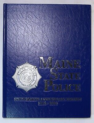 $149.95 • Buy Maine State Police 1993 Yearbook History Book