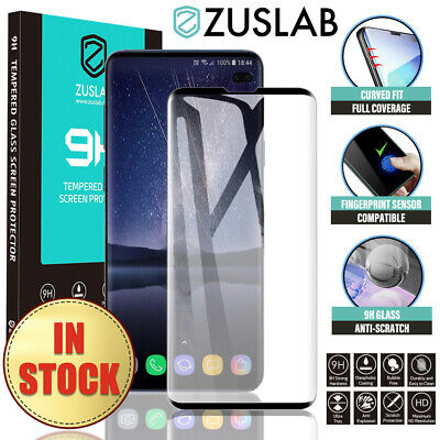 AU5.65 • Buy For Samsung Galaxy S10 5G S9 8 Plus S10e Note 10 9 8 Tempered Screen Protector