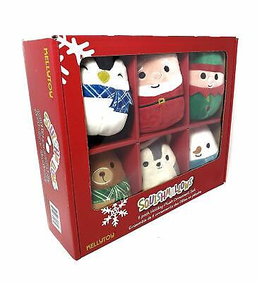 $ CDN63.42 • Buy Squishmallows Christmas Holiday Mini Plush Ornament Set 6 Pack [Toy Kellytoy]