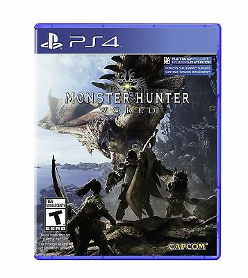 AU59.12 • Buy Monster Hunter: World [Sony PlayStation PS4 Capcom RPG Fight Huge Monsters] NEW